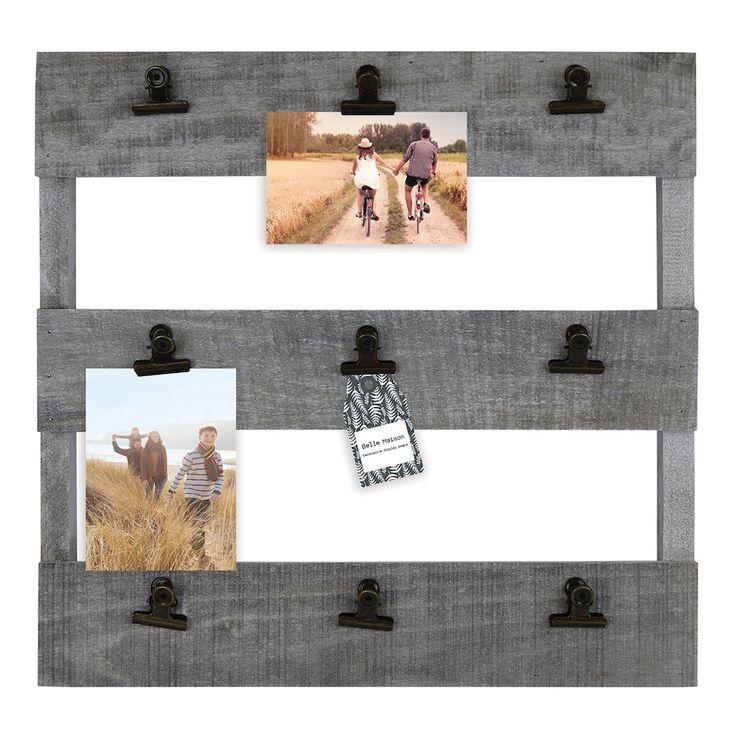 Belle Maison Pallet 9 Clip Collage Frame Collage Frames Frame Pallet