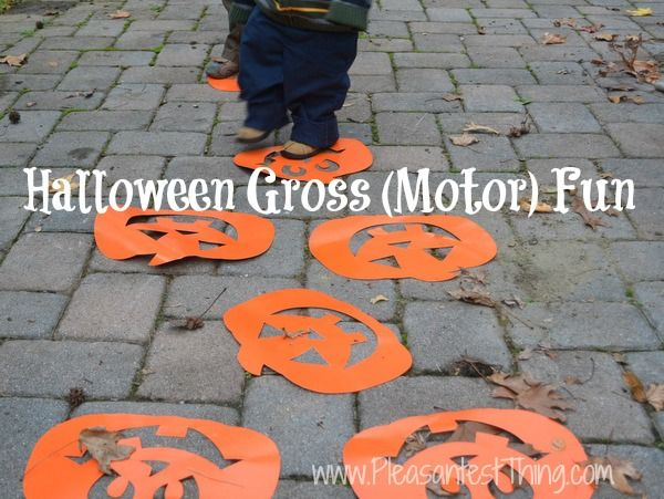 8 best images about Gross motor games with pumpkins on Pinterest - halloween party ideas for preschoolers