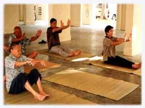 Yoga for the Elderly - Seniors Way to Be Fit Growing Old is the stage when you have more time for yourself, your family, for leisure, recreation and relaxation. However, it is also the time when you are more susceptible to some ailments that are linked to old age like Arthritis, rheumatism, incontinence, and High Blood Pressure.