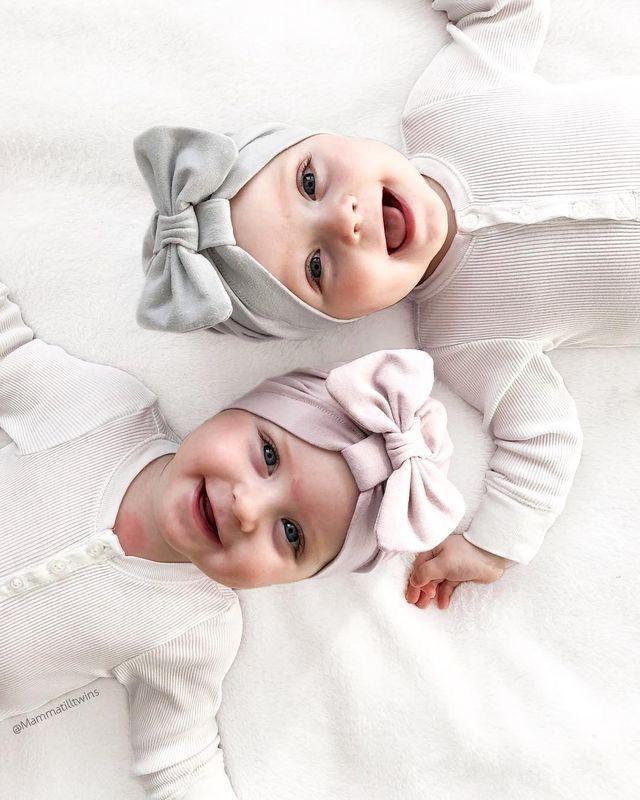 So Sweet Twin Baby Girls Cute Twins