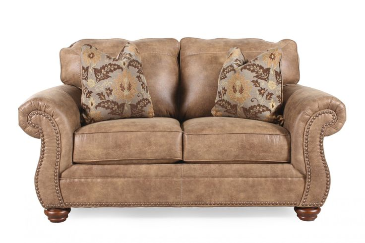 Ashley Larkinhurst Earth Loveseat | Mathis Brothers Furniture · Furniture  ShoppingCondo FurnitureLiving Room ... Part 36