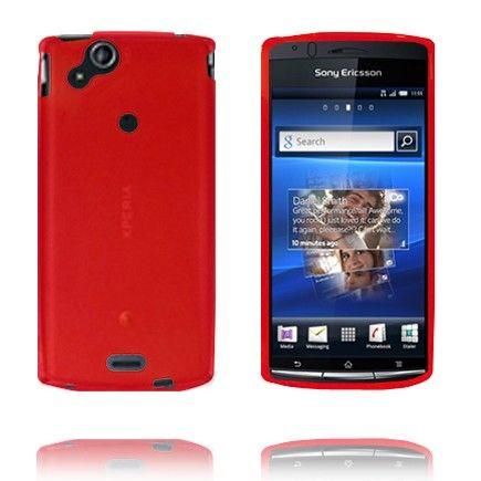 Soft Shell (Rød) Sony Ericsson Xperia Arc Deksel