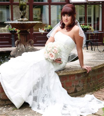 Me on my wedding morning!