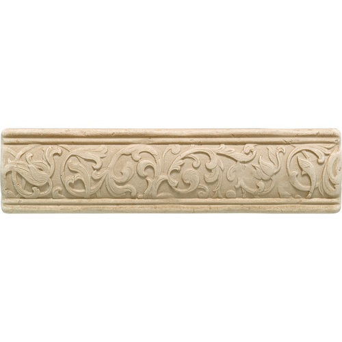 Arabesque Series Crema Fabrege Liner Daltile Ceramic