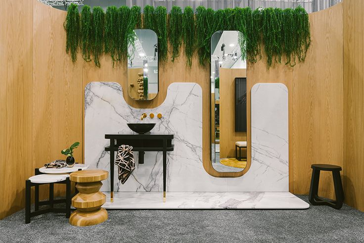 Our friends, Zuster had another beautiful stand at DENFAIR 2017 this year. We love everything about this stunning Ballerina Vanity, Shaving Cabinet and Linen Cupboard!