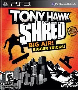 Tony Hawk Shred - PS3 Game