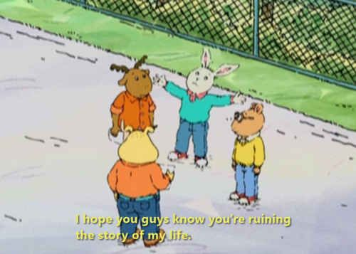 Pretty sure I was Buster in another life. | 25 Times You Really Connected With Arthur