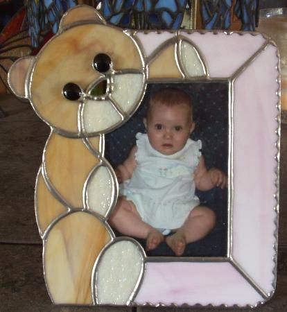 Cute Picture Frame  Warner Stained Glass - Carolyn Brown Online Gallery