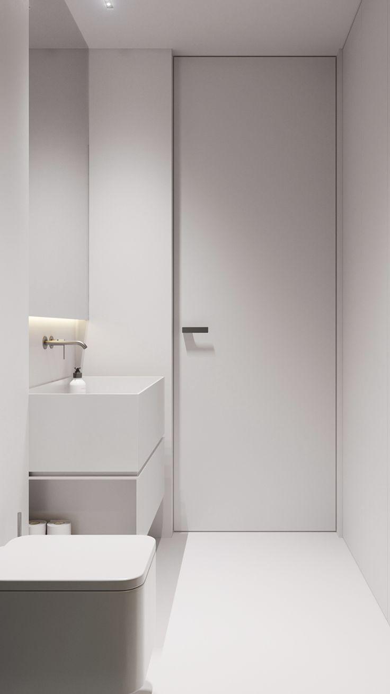 Home Minimalistische Bader Badezimmer Innenausstattung Wc Design