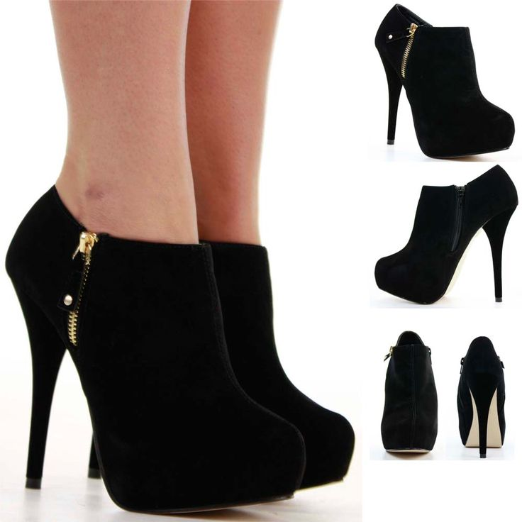 Pretty booties like this for work with my slacks, pleeeeeaazee.