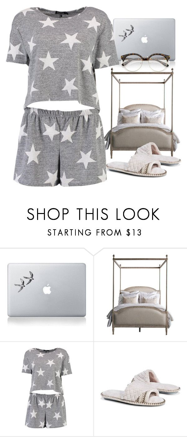 """Sleeping beuty"" by staydiva ❤ liked on Polyvore featuring Vinyl Revolution, Boohoo and Muk Luks"