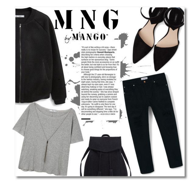 """""""Mango"""" by starlight667 ❤ liked on Polyvore featuring MANGO, Violeta by Mango and MNG by Mango"""