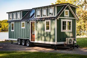 This is a custom 28′ Ridgewood Model tiny house on wheels byTimbercraft Tiny Homes. Enjoy! The 28′ Ridgewood Tiny House by Timbercraft Tiny Homes