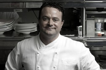 Douglas Keane of Cyrus Restaurant, one of the featured chefs at the Sonoma Valley Harvest Wine Auction.