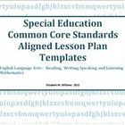 Daily weekly common core state standards based lesson plan for Lesson plan template using common core standards