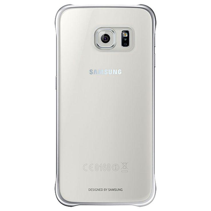 Samsung Galaxy S6 Clear Deksel EF-QG920BSEGWW - Sølv