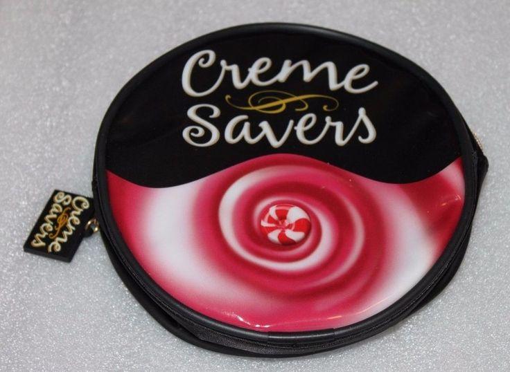 Unused New Creme Savers Cremesavers makeup carrying case by Life Savers #CremeSavers