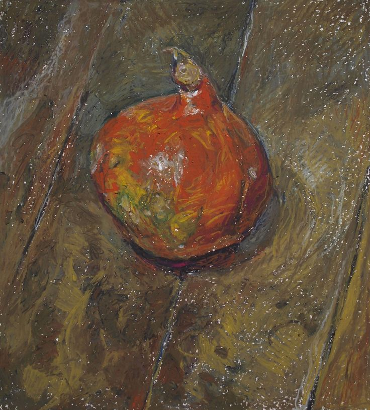 Kouta Sasai, still life, pastel on paper