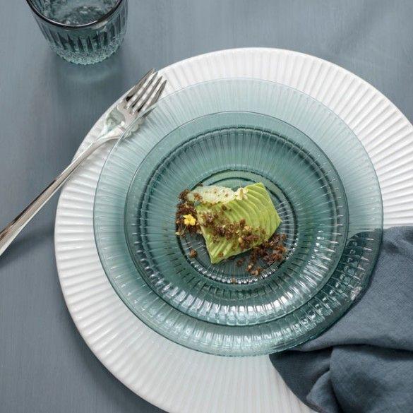 Hammershøi Glasstallerken Green Liten