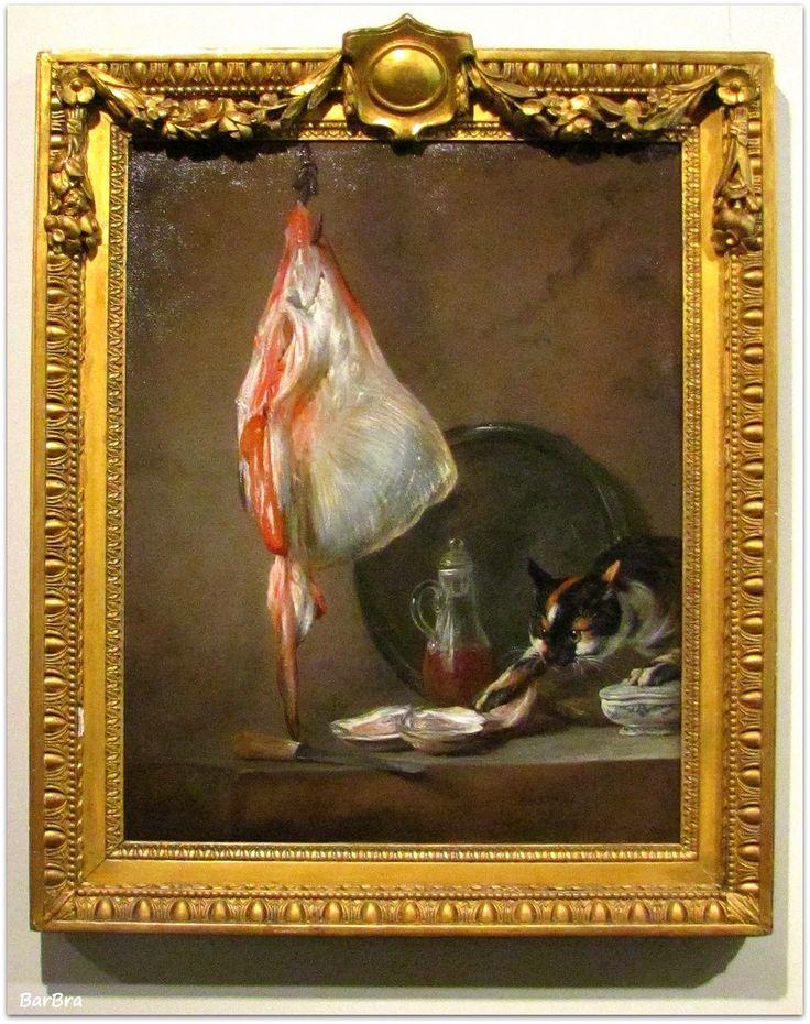 "Glasgow, Burrell Collection - Jean Siméon Chardin: ""The Ray"", olio su tela (1728)  http://zibalbar-foto.overblog.com/jean-sim%C3%A9on-chardin"