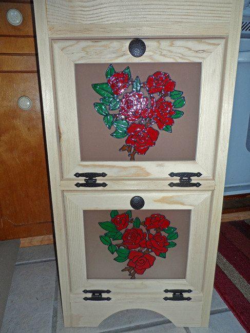 Depósito de papa rosas por Colorfulimpressions en Etsy