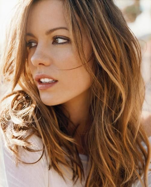 love her color, light brown with carmel highlights- @Brooke Williams Williams Russell i want my hair this color for summer. :)