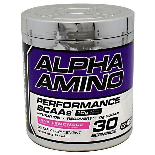 Cellucor Chrome Series Alpha Amino Pink Lemonade
