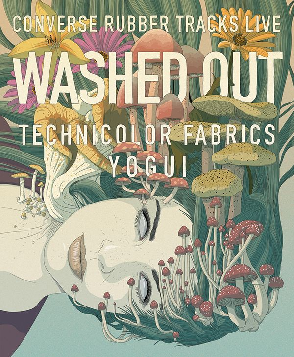Converse Rubber Tracks Live / Washed Out
