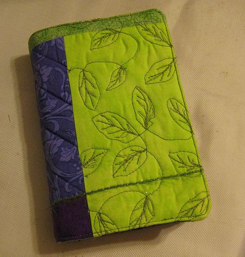 Sister Of The Divide: Quilted Book Cover Tutorial