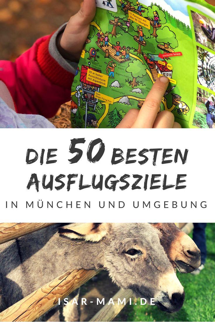Die besten Ausflüge mit Kindern in München und Umgebung