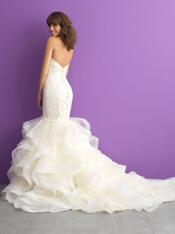 225 best Bridal Fashion images on Pinterest | Short wedding gowns ...