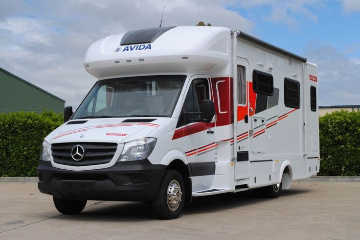 Built on the reliable Mercedes Benz Sprinter chassis, the Torquay is luxury throughout.