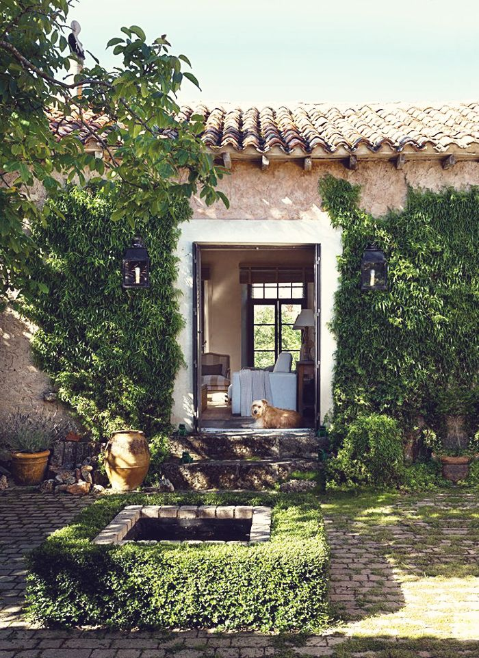 dustjacket attic: Interior Design | Spanish Stone House