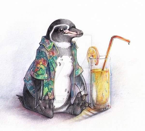 I Love Penguins