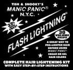 Manic Panic Flash Lightning Bleach 30 Volume Box Kit *** See this great image @ http://www.amazon.com/gp/product/B002GELXJK/?tag=passion4fashion003e-20&rw=030816142045