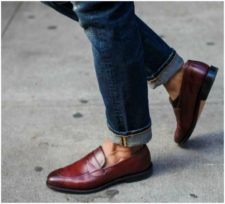 Bruno magli mens arezzo penny loafer shoes men