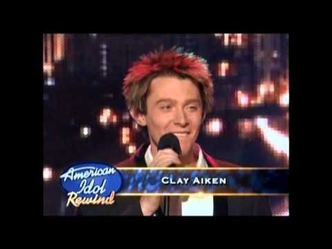 best quality of all of his performances in one place, Clay Aiken American Idol Season 2 Solo Performances - YouTube
