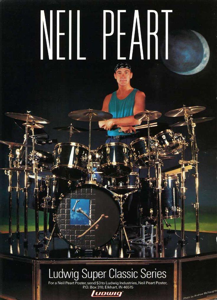 Neil Peart: Modern Drummer - February 1994