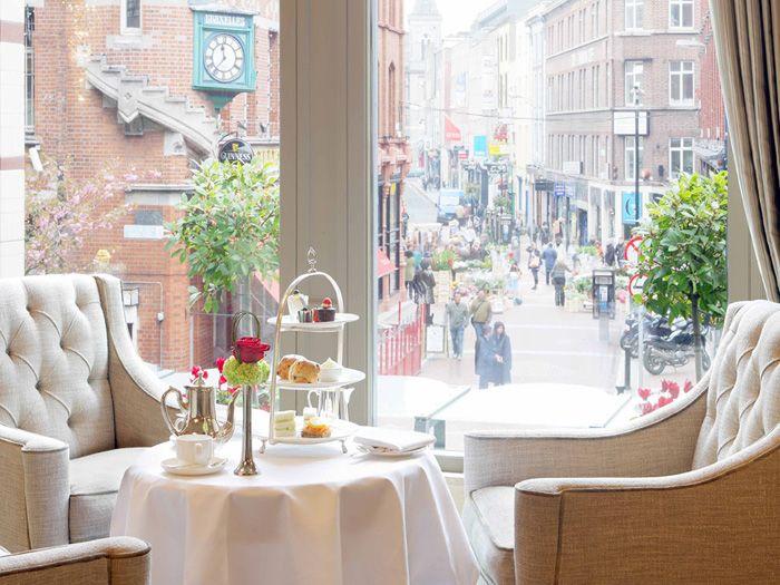 Afternoon tea @ The Westbury Hotel, Dublin. Birthday Treat :)