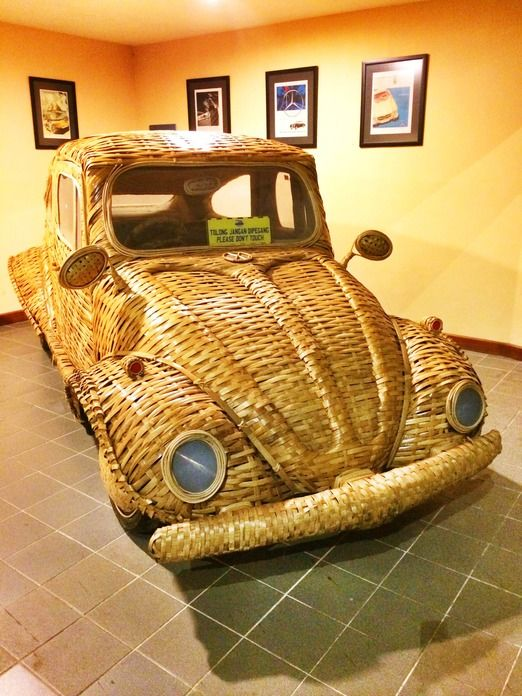Unique: Museum Angkut offers fun experience learning about vehicles and how these cars have shaped our lives. (Photo by ...