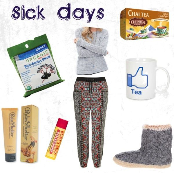 I've been having some sick days recently. I decided to showcase things that make me feel a little better when ill, and a sick day outfit.