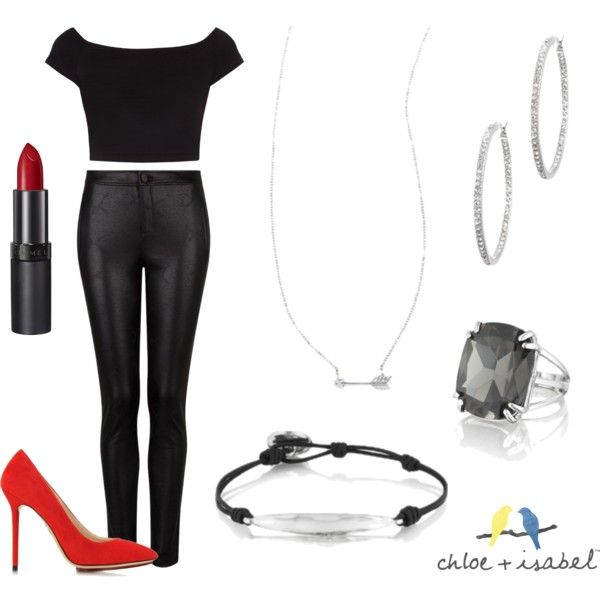 """""""C + I Sandy from Grease"""" by candirosegreen on Polyvore"""
