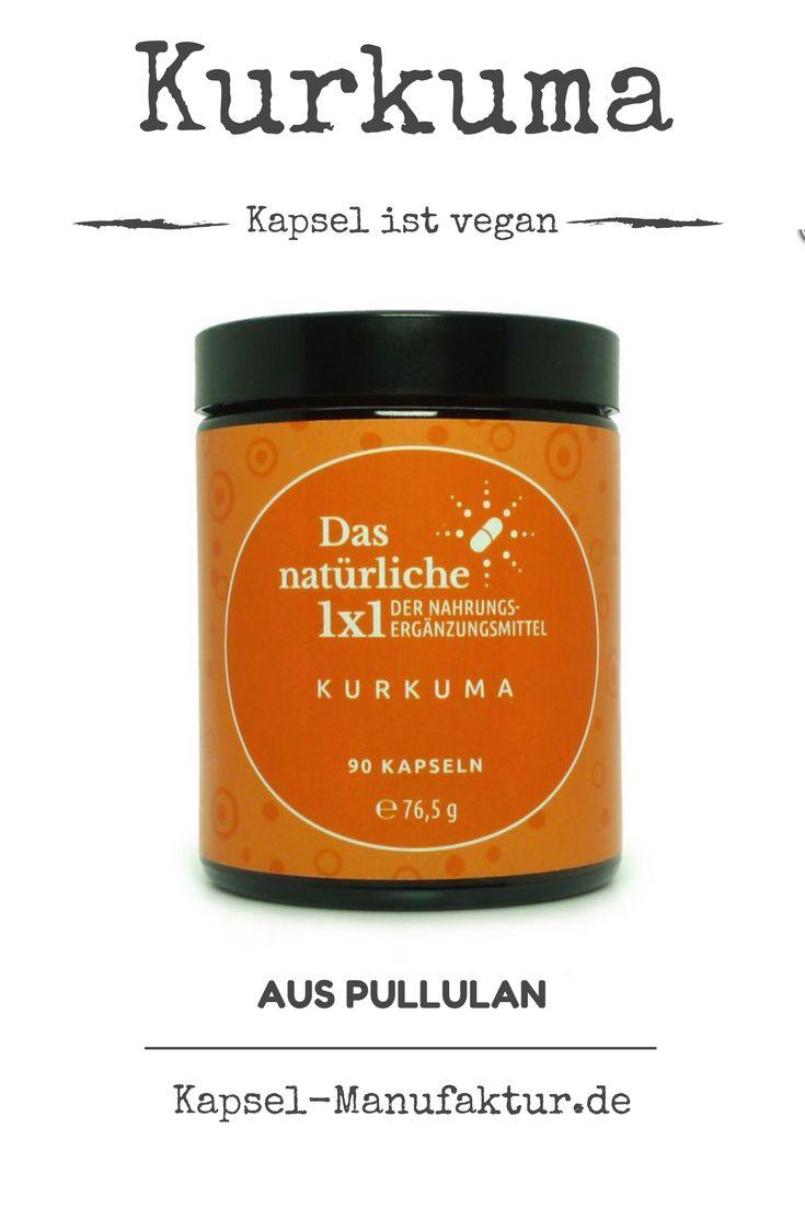 700 mg Kurkuma in einer Pullulan-Kapsel. Nicht nur voll vegan sondern auch... lies mehr auf unserer Website.