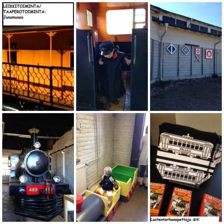 leikit, lasten tapahtumat, junamuseo