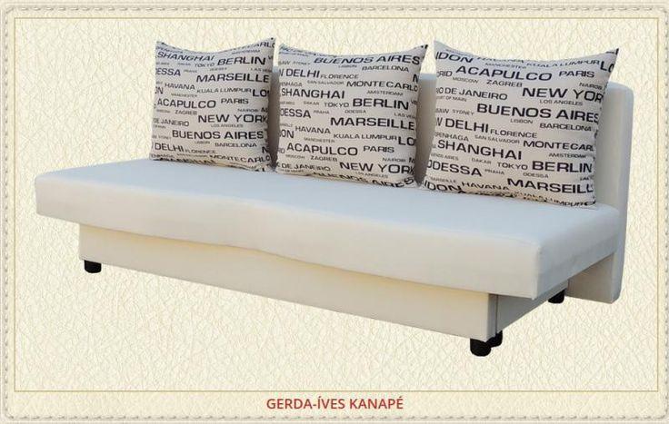 Gerda íves kanapé