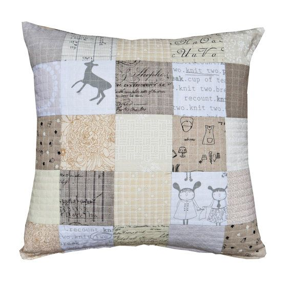 135 best A quilted cushion images on Pinterest | Ideas, Appliques ... : quilted cushions - Adamdwight.com