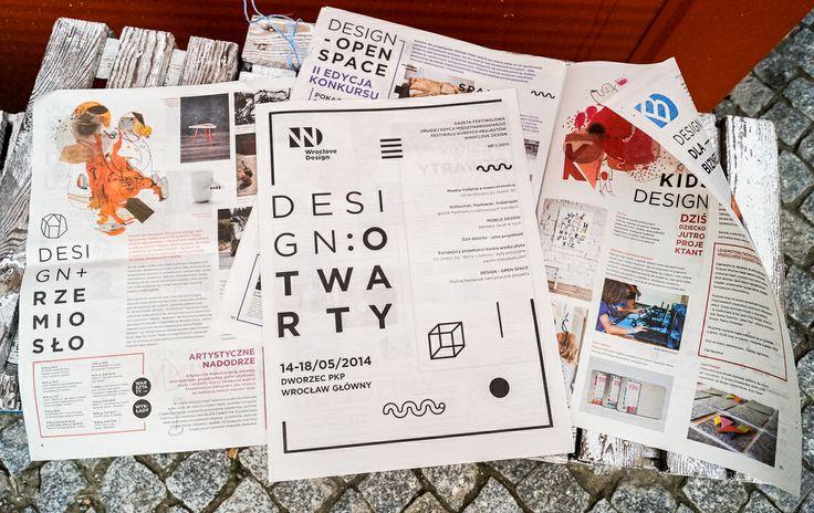Gazeta Festiwalowa. #designotwarty