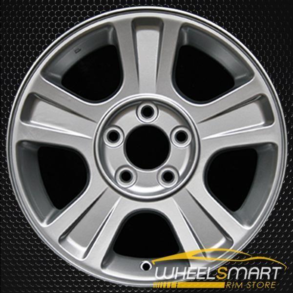 16 Ford Explorer Oem Wheel 2002 2003 Silver Alloy Stock Rim 3454