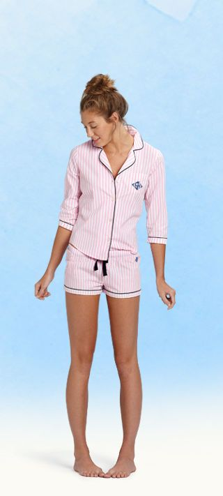Gilly Hicks Pink Jammies