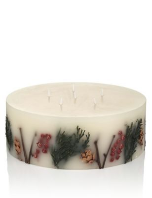 Mandarin, Clove & Cinnamon Extra Large Inclusion Scented Candle